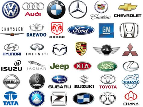 american car logos and names list car logos and brands latest auto logo
