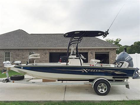 bay boat with t top home xpress boats autos post