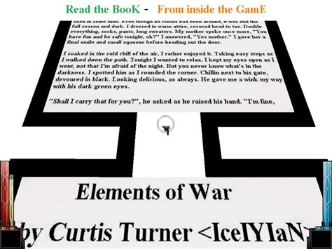 war book report read the elements of war book image mod db