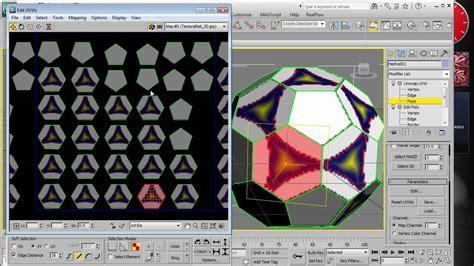 tutorial xld soccerball 3d texturing tutorial 3ds max realistic