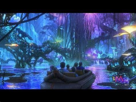 avatar land unveiled for walt disney world with new