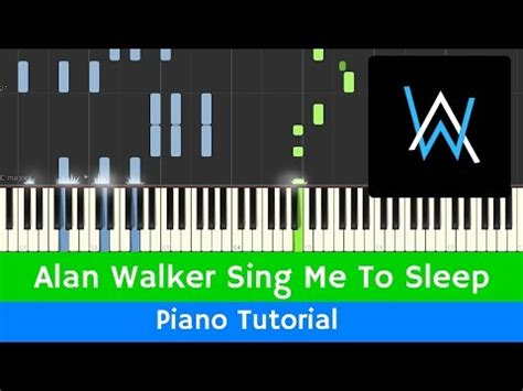 alan walker sing me to sleep mp3 alan walker sing me to sleep smts piano tutorial midi