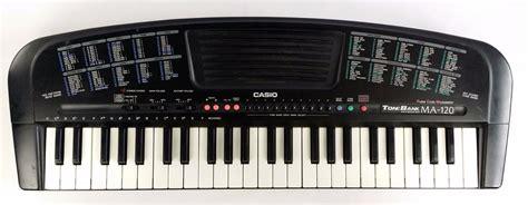 Keyboard Casio Ma 120 Casio Tone Bank Ma 120 Portable Keyboard 49 Nine Note 100
