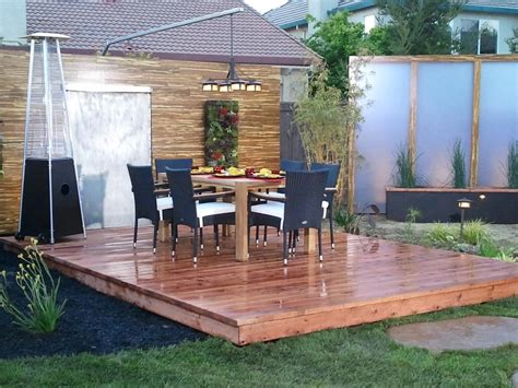 how to design a deck for the backyard floating decks hgtv