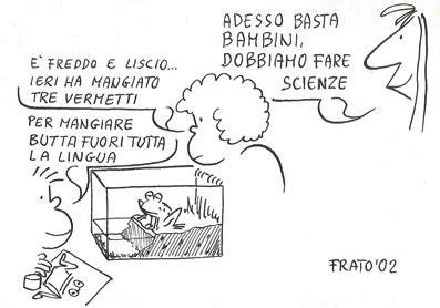 interno test italiano le vignette di frato facciamo scienze