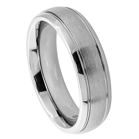 titanium comfort fit wedding bands men s titanium wedding ring classic comfort fit band new