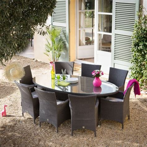 Table De Jardin Resine Tressee Pas Cher