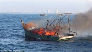 rc boats exploding at least 4 missing after fishing boat explosion off the