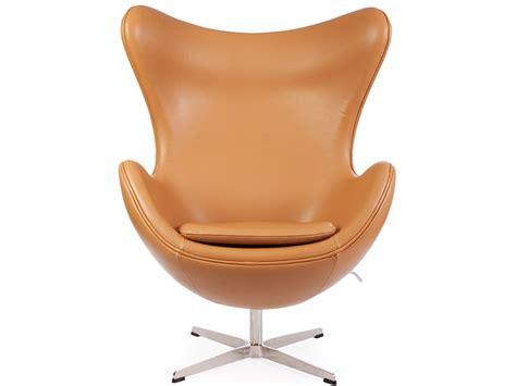 fauteuils egg fauteuil egg arne jacobsen caramel