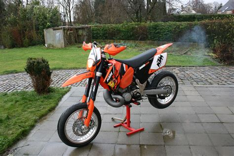 Ktm Exc 300 Supermoto 2006 Ktm 300 Exc Pics Specs And Information