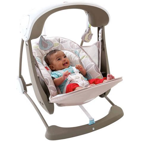 baby swing glider fisher price fisher price swing and seat portable baby folding toddler