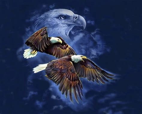 abstract eagle wallpaper eagle spirit 3d and cg abstract background wallpapers