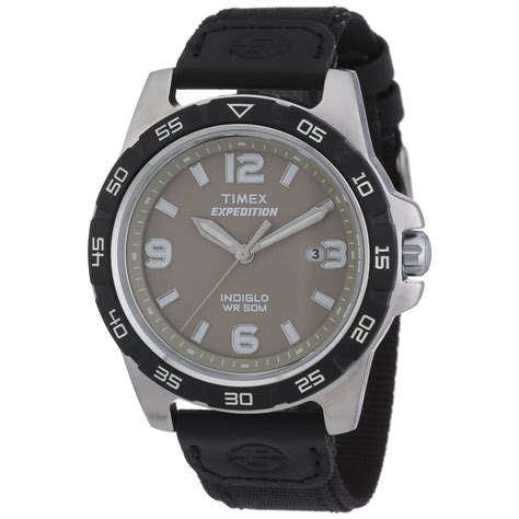 Timex Men S Black Expedition Rugged Outdoor Metal Quartz Rugged Outdoor Watches