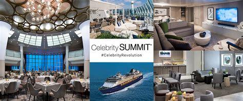 celebrity unveils details  celebrity summits complete renovation avid cruiser cruise