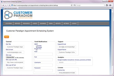 customer paradigm scheduling system open source