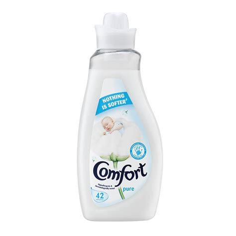comfort detergent products comfort pure fabric conditioner 42 washes 1 5l at wilko com