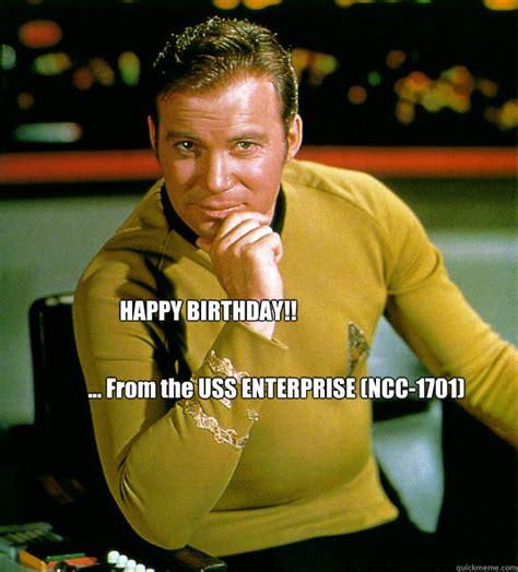 Happy Birthday Star Trek Meme - happy birthday star trek memes quickmeme