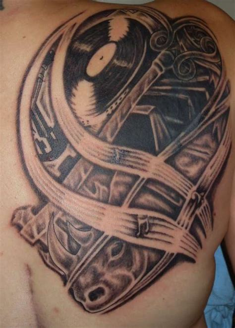 tattoo on your shoulder music music shoulder piece tattoo