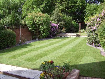 New Build Garden Design Ideas Services We Offer Grassy Bank Garden Services