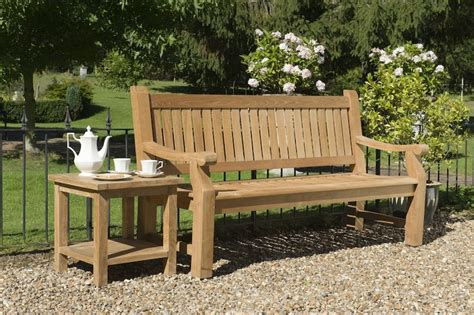 the range garden bench this is the top of our range and the rolls royce of all