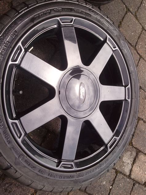 ford black magic felgen 4 ford black magic edition felgen inkl