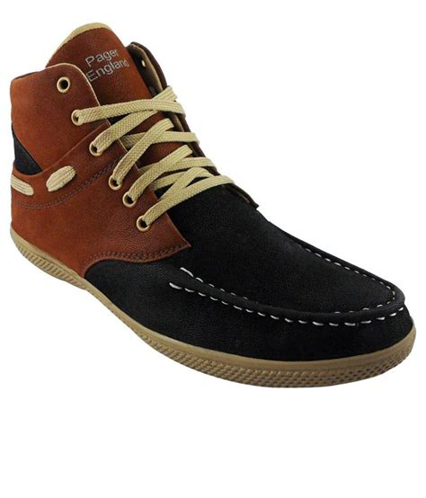 elvace brown black casual shoes price in india buy