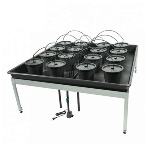 table top grow l aero grow garland table l 16 macetas