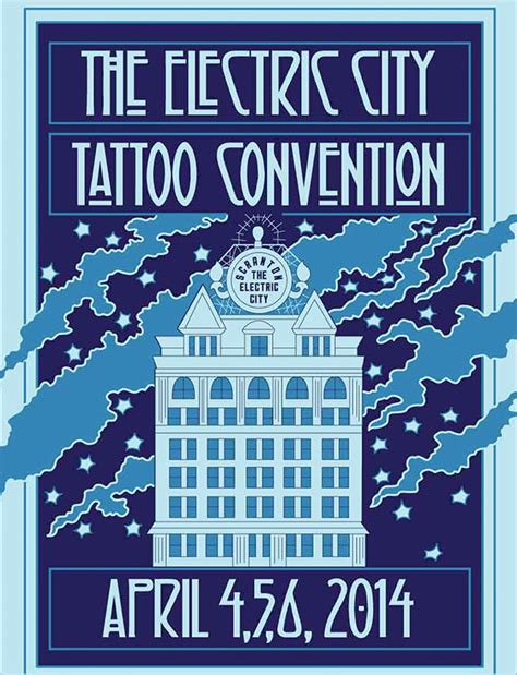 2014 electric city tattoo convention scranton pa laser