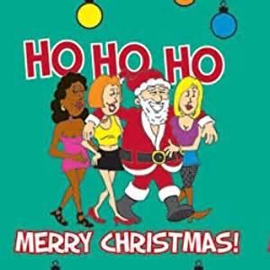ho ho ho merry gift wrap joke