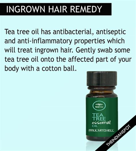 is tea tree oli for ingrowing hairs beauty diy coconut home remedies for ingrown hair that really work