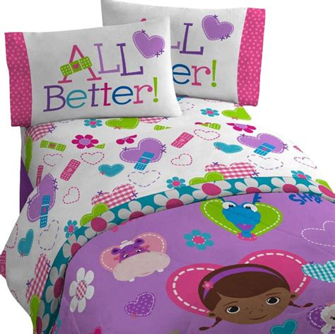 disney doc mcstuffins bedding set animal friends
