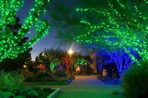 springs preserve holiday lights las vegas lindstrom and