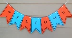 Back To School Archives Activities For Kids Free Printable Welcome Banner Template