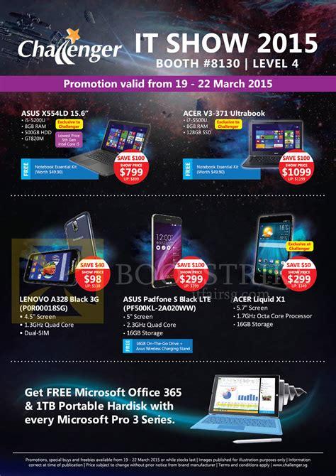Asus Laptop Singapore Challenger challenger notebooks mobile phones asus acer lenovo x554ld padfone s v3 371 liquid x1