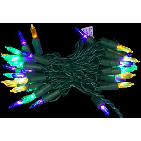 led mardi gras lights 40 light strand 08449