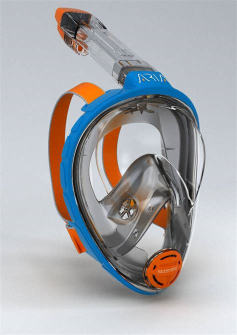 Masker Snorkeling Thenice Hitam Xl L M S snorkelmasker snorkelmasker