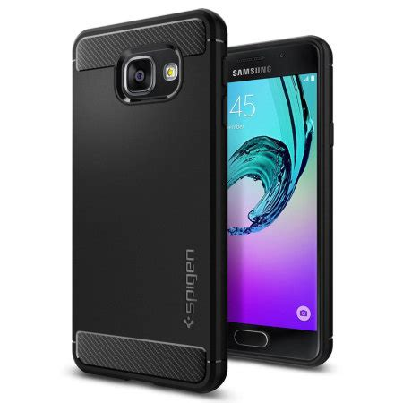 Samsung Galaxy A5 2016 Spigen Tough Armor Carbon Textur spigen rugged armor samsung galaxy a3 2016 tough black