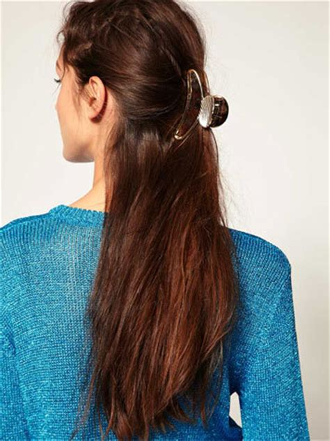 claw hair hairstyles sonalinraemaefashion