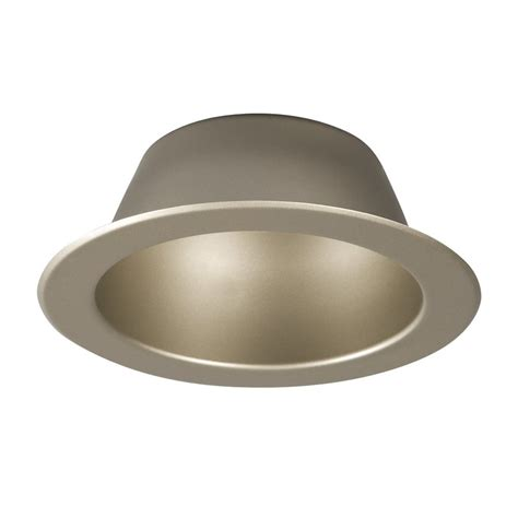 recessed light covers lowes shop galaxy pewter open recessed light trim fits housing