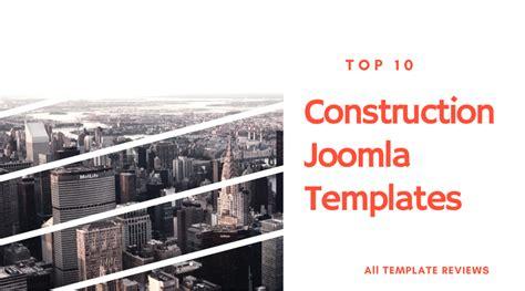 top 10 construction joomla templates all template reviews