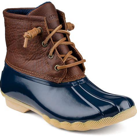 womens duck boot sperry s saltwater duck boot rainboots