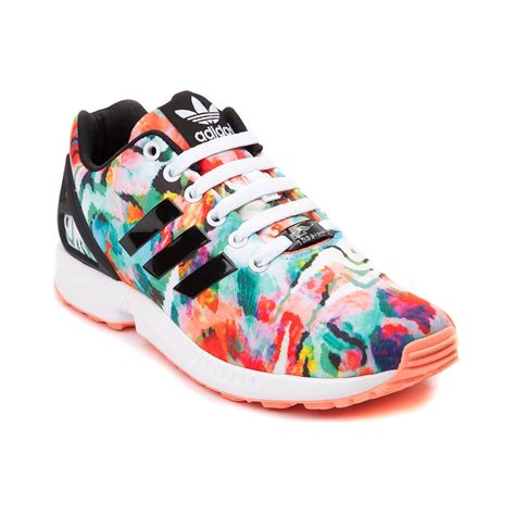adidas women shoes womens adidas zx flux athletic shoe multi 436181