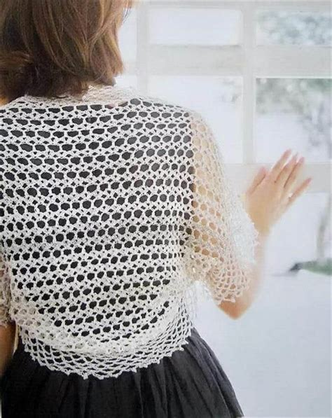 Simple Pattern Bolero | 20 easy beginner shrug pattern diy to make