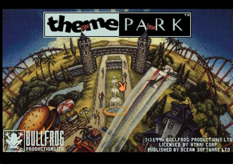 theme park psp theme park world rom