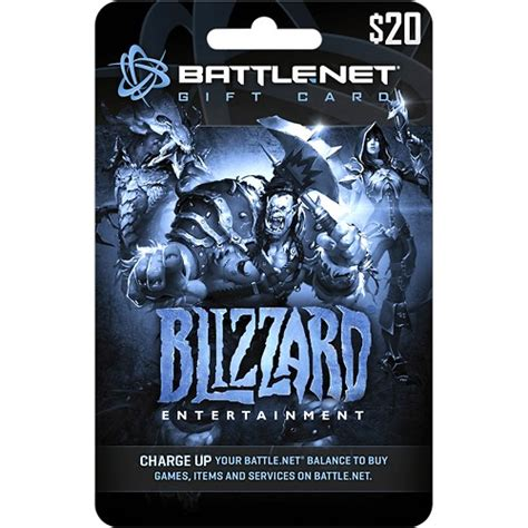 Where To Buy Blizzard Gift Cards - blizzard battle net gift card 20 multi blizzard battle net 20 best buy