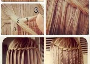 waterfall hairstyle step by step hair orders