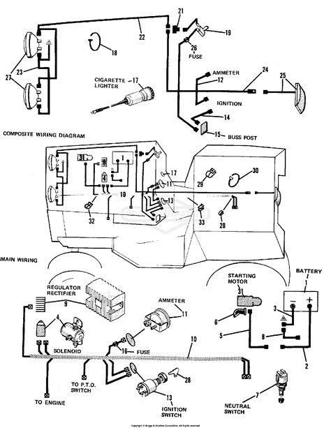 [DIAGRAM] Simplicity 7116 Hydro Electrical Diagram Talking
