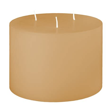 3 Wick Candles 6x4 Unfragranced 3 Wick Pillar Candle Unscented