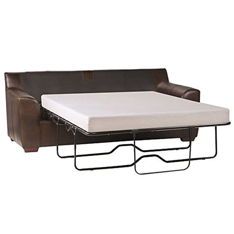 Sleep Master Cool Gel Memory Foam 5 Inch Sleeper Sofa Sleeper Sofas With Memory Foam Mattresses
