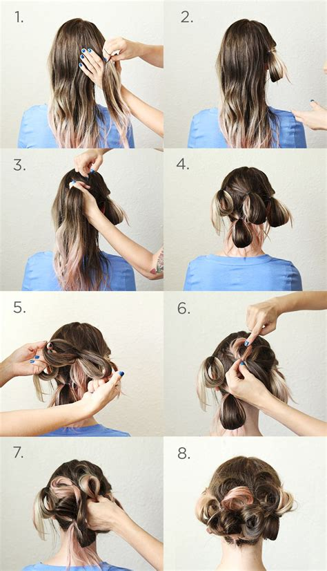 diy hairstyles step by step tumblr a simple pretty updo a beautiful mess
